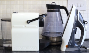 Kettles, coffee machines & irons can be affected by hard water
